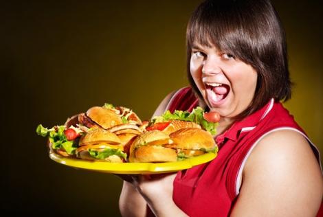 Переедание грозит лишним весом