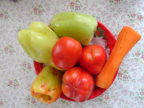 Овощи эффективно способствуют снижению веса