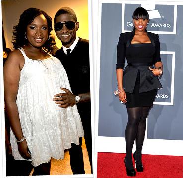 дженнифер хадсон до и после беременности и родов
