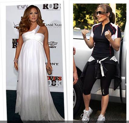 фото дженнифер лопес до и после беременности